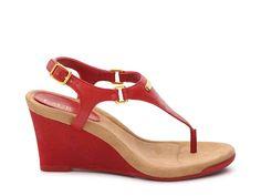 a57b634b05 Lauren Ralph Lauren Nikki Wedge Sandal Women's Shoes | DSW Jack Rogers, Wedge  Sandals,