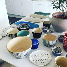 NEW On my kitchen table#pollipots #bowl #new #maker #white #potteryshop #scandinavian #smallshop #unique #oneofkind #craft #etsyshop #craft #makersgonnamake #handmade #dinnerplate #food #foodstyling #foodstylist #rusticdecor #rustic #restaurant