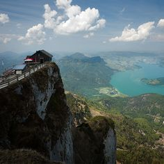 A place I'd like to be right now with a view - Schafberg Mountain @ Salzburg, Austria
