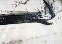 andrew wyeth, the dam