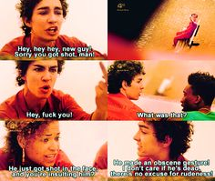 """From the show """"Misfits"""". I even read this in Nathan's voice. I love this show Nathan Misfits, Misfits Tv Show, Series Movies, Tv Series, Misfits Quotes, Tv Quotes, Movie Quotes, Iwan Rheon, Robert Sheehan"""