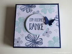 Stampin' Up! - Geschenkbox für Minipralinenverpackung mit Anleitung