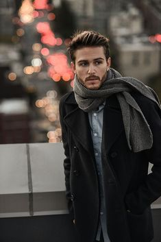 Fashion winter men adam gallagher Ideas for 2019 Adam Gallagher, Der Gentleman, Gentleman Style, Winter Stil, Cooler Look, Stylish Jackets, Mens Fall, Legging, Mode Outfits