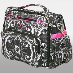 I had this brand of diaper bag with Savannah and LOVED it. So of course I will be buying it again in a different pattern for the new baby! Ju Ju Be BFF Diaper Bag - Shadow Waltz