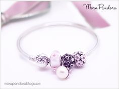 Pandora spring inspiration using the LE Dainty Bow bangle :)