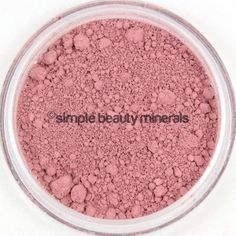 Rosalee Cheek Color ($16): A high shimmer of berry pink, that will give you the sweetest color on deep skin tones. We love offering fresh pops of color to create a lovely glow. Never fear, Rosalee is here: https://simplebeautyminerals.com/product/rosalee-cheek-color/ #Stylesuccess #botanicalbeauty