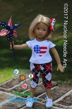 American Heart outfit for Little Darling