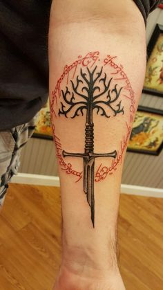 Elvish tattoo ~ Why didn't I think of this earlier?