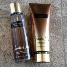 Vanilla lace Victoria secret vanilla lace fragance mist 250 ml and fragance lotion 236 ml Victoria's Secret Makeup