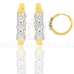 Maharaja Jewelers Direction Houston  #Earrings #HoopEarrings #DiamondEarrings #Diamonds #Jewelry #Houston
