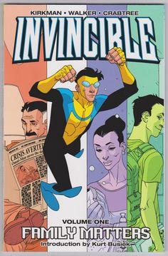 Invincible TPB Image Comics Vol1 7th Print (free ship)