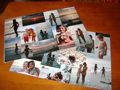 Grandparents especially enjoy having pictures of their children and grandchildren. Create a themed photo collage and turn it into a place mat for a unique gift. Learn how to make Laminated Photo Place Mats at Frugal Christmas, Homemade Christmas Gifts, Homemade Gifts, Handmade Christmas, Christmas Crafts, Diy Gifts, Christmas Ideas, Photo Craft, Diy Photo