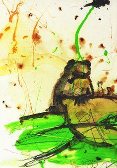 Frosch in Froschkneipe