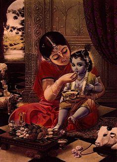 Shri Radhe Maa - When Lord Krishna visited a Muslim musician Hare Krishna, Señor Krishna, Yashoda Krishna, Krishna Lila, Little Krishna, Jai Shree Krishna, Lord Krishna Images, Radha Krishna Pictures, Krishna Photos