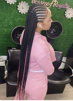 Braided Hairstyles For Black Women Cornrows, Black Girl Braided Hairstyles, Black Girl Braids, African Braids Hairstyles, Girls Braids, Black Women Hairstyles, Hair Masks For Dry Damaged Hair, Twist Cornrows, Braids With Curls