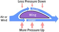 Properties of Air and the Characteristics of Flight explained with simple experiments to try.