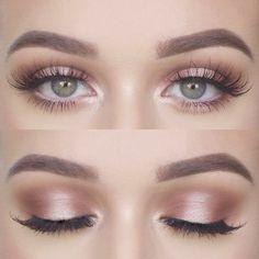 Wonderful - Simple Makeup Ideas For Brown Eyes #follow