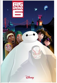 Poster Posse | Poster Posse Project #12: Big Hero 6 – Phase 6 (Officially licensed by Disney)