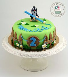 another version of czech popular cartoon figure Book Cakes, 1st Birthday Cakes, Cake Gallery, Small Cake, Cakes For Boys, Cake Tutorial, Love Cake, Pretty Cakes, Cake Creations