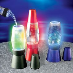 Lava Lamp Shot Glasses Get You Lit While They Get Lit -Craziest Gadgets