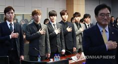 171212 INFINITE at greenhouse gas reduction campaign ceremony