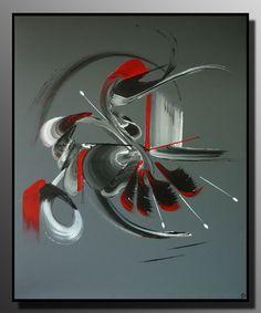 peinture abstraite Le détour