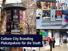 #Culture City Branding . Ein speziell ausgewählter Flächenmix aus verschiedenen Kulturmedien. In vielen Städten buchbar - für Budgetlage.  http://www.kulturmedien.net/werbetraeger/culture-city-branding/