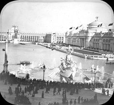 The original Museum of Science and Industry from the Chicago Columbian Exposition