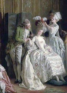 María Antonieta, icono artístico y de la moda en la Francia de aquella época.