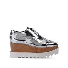 5b2885c1380cbd Elyse Indium Star Shoes - Stella Mccartney Wedge Shoes