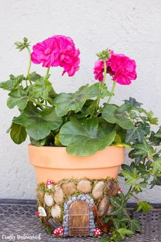 Magical DIY Fairy House Planter   12 Useful DIY Projects for Moms