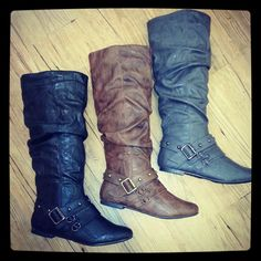 Pashion Boots So cute!  #Boots #Fall #Fashion