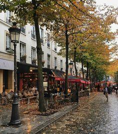 Fall in Paris,  Sorbonne