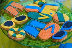 Cookies at a Beach Party #beach #party