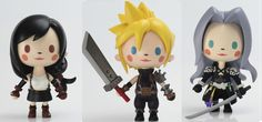 """Ultra-cute """"chibi"""" Final Fantasy VII figures now available forpre-order"""