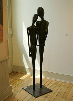 Fitting Together - #forged #blacksmithing #sculpture - mark puigmarti