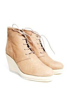 Inia wedge heelde shoe from Whyred