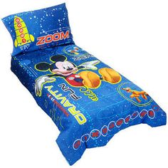 Disney -Mickey Mouse 4-Piece Toddler Bedding Set