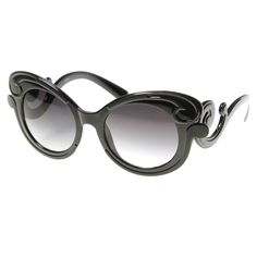 36345c0dcea2 Luxurious High Fashion Butterfly Oversize Sunglasses 8634