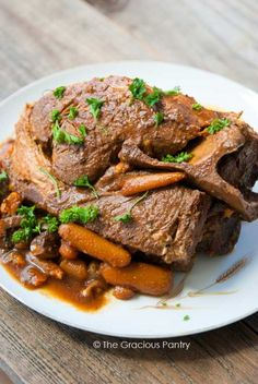 10+Hour+Slow+Cooker+Clean+Eating+Pork+Roast