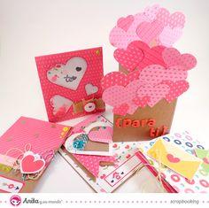 Anita y su mundo: 5 ideas de tarjetas de San Valentín