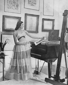 April Vogue 1949 Cecil Beaton