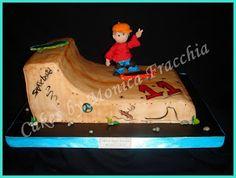TORTA DECORADA PATINETERO | TORTAS CAKES BY MONICA FRACCHIA