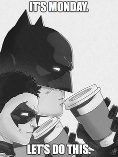 Make Batman coffee memes or upload your own images to make custom memes Meme Café, Funny Memes, Hilarious, Laugh Meme, Memes Humor, Im Batman, Batman Robin, Batman Stuff, Dc Comics