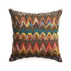 """Naldo 16"""" Pillow with Feather Insert in Outlet Accessories 
