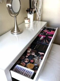 My New Makeup Room ! Feat. Ikea Malm Dressing Table | LUUUX by gayle