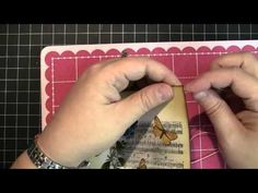 Penny Black and Jill Foster, PB Collage Stamps - YouTube