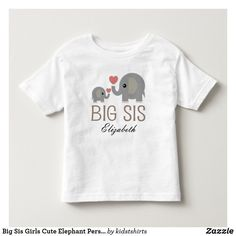 inktastic Lil Sis Girls Owl Sister Announcement Toddler Long Sleeve T-Shirt