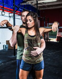 Gym engagement because not everyone enjoys a kiss kiss walk in the park. #fitness #engagement #crossfit