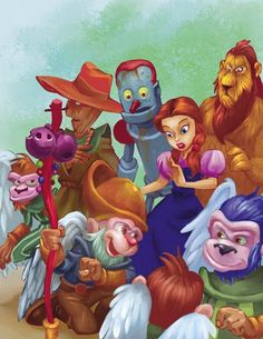 Wizard of Oz Twisted Art   Great Collection of Wizard of Oz Fanart